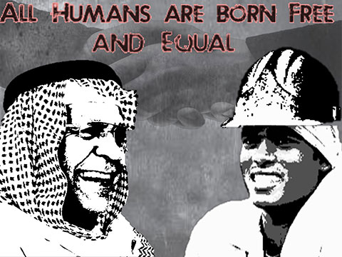 All Humans Are Born Free And Equal